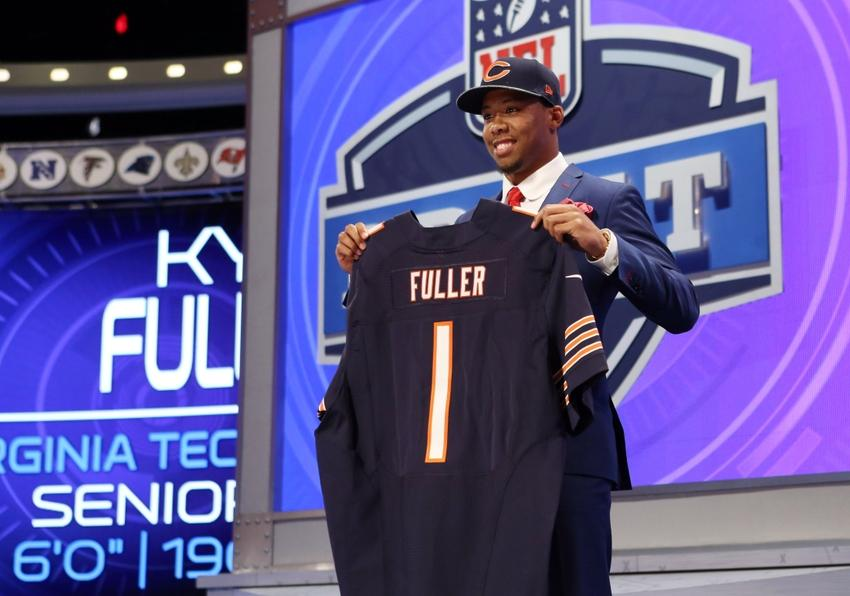 nfl GAME Chicago Bears Kyle Fuller Jerseys